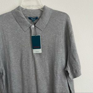 Tommy John Second Skin Heather Sweater Polo